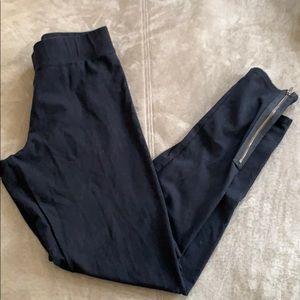American Eagle black high waist leggings, zippers